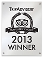 Trip Advisor - Travellers Choice Award 2013